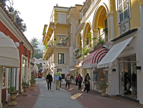 Hotels on Capri