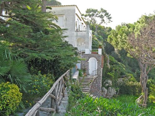 Luxury villas on the island of capri capri italy for Capri luxury villas