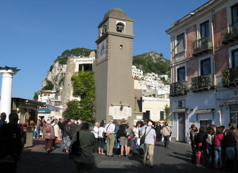 Clock Tower on Capri