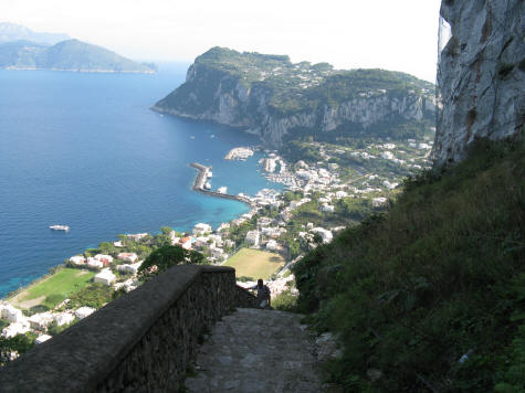 Hiking on the Island of Capri